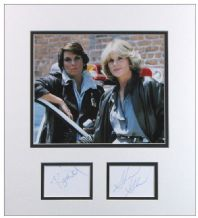 Cagney and Lacey Autograph Signed Display